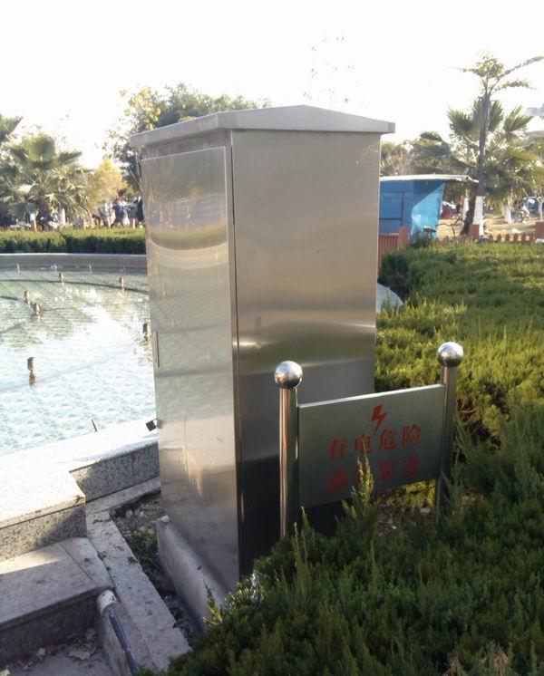 供应不锈钢配电箱,安装在公园的不锈钢配电箱