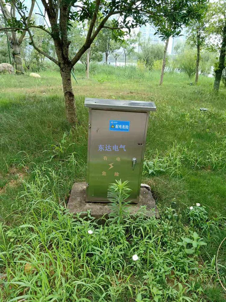 不锈钢配电箱安装现场图不锈钢配电箱应用案例图